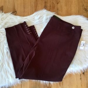 ❌SOLD❌ NWT, Roz & AliAnkle Dress Pants, 24W